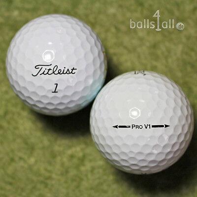 150 Golfbälle Titleist Pro V1 AAA/AAAA Lakeballs ProV1 Pro V 1 used golf balls ()