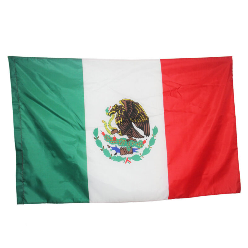 Mexico flag Banner Mexican country Mexicanos flag National flags 90*60 cm