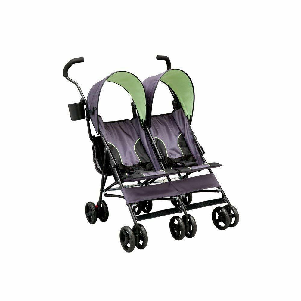 LX Side by Side Tandem Umbrella Stroller
