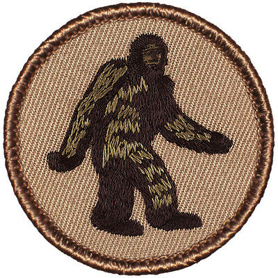 Bigfoot! Awesome Boy Scout Patrol Patch! - #173 The Bigfoot Patrol!
