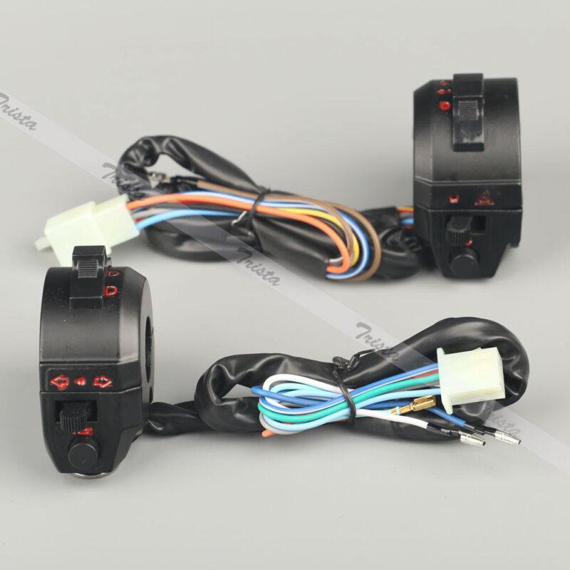 "Motorcycle ATV 7/8"" Handlebar Control Headlight Horn Electrical Start Switch 12V"