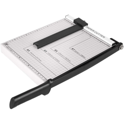 "12"" Paper Cutter A4 To B7 Metal Base Guillotine Page Trimmer"