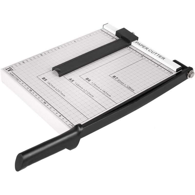 "12"" Paper Cutter A4 To B7 Metal Base Guillotine Page Trimmer Blade Scrap Booking"