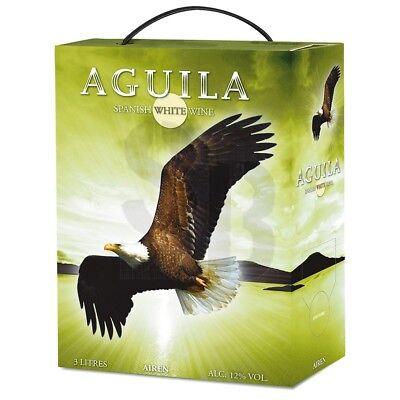 Aguila Airen Spanischer Weißwein 3L Bag in Box BiB 12% vol 300cl