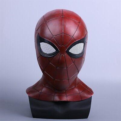 Avengers 3 Infinity War Spiderman Mask New Cosplay Superhero Latex Mask - Latex Spiderman Mask