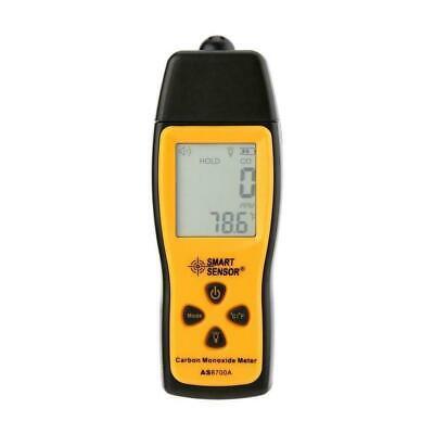 Handheld Carbon Monoxide Meter Portable Co Gas Leak Detector Gas Tester 1000ppm