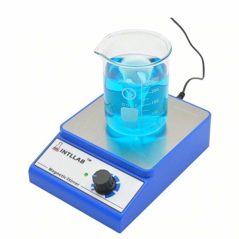 Magnetic Stirrer Mixer 316 Stainless Steel Stir Bar AC 100-240V Plug 3000ml Kits