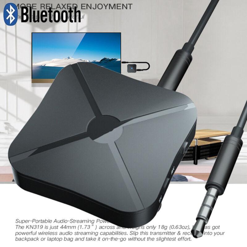 Kabelloser Bluetooth Audio Sender Empfänger Stereo Musik Adapter RCA AUX DE