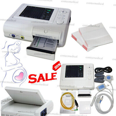Baby Born Fetal Monitor Fetal Heart Rate Maternal Uterine Contraction Tocoprobe