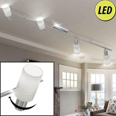 LED Techo Focos,Lámpara Ess Habitación Cristal Iluminación Giratoria Foco Viga