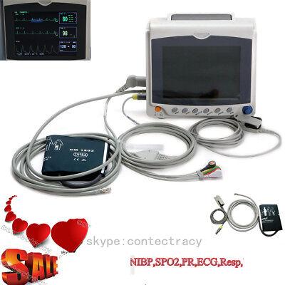 Promotion Icu Patient Monitor Portable Vital Signs Monitor Ecg Nibp Spo2 Prfda