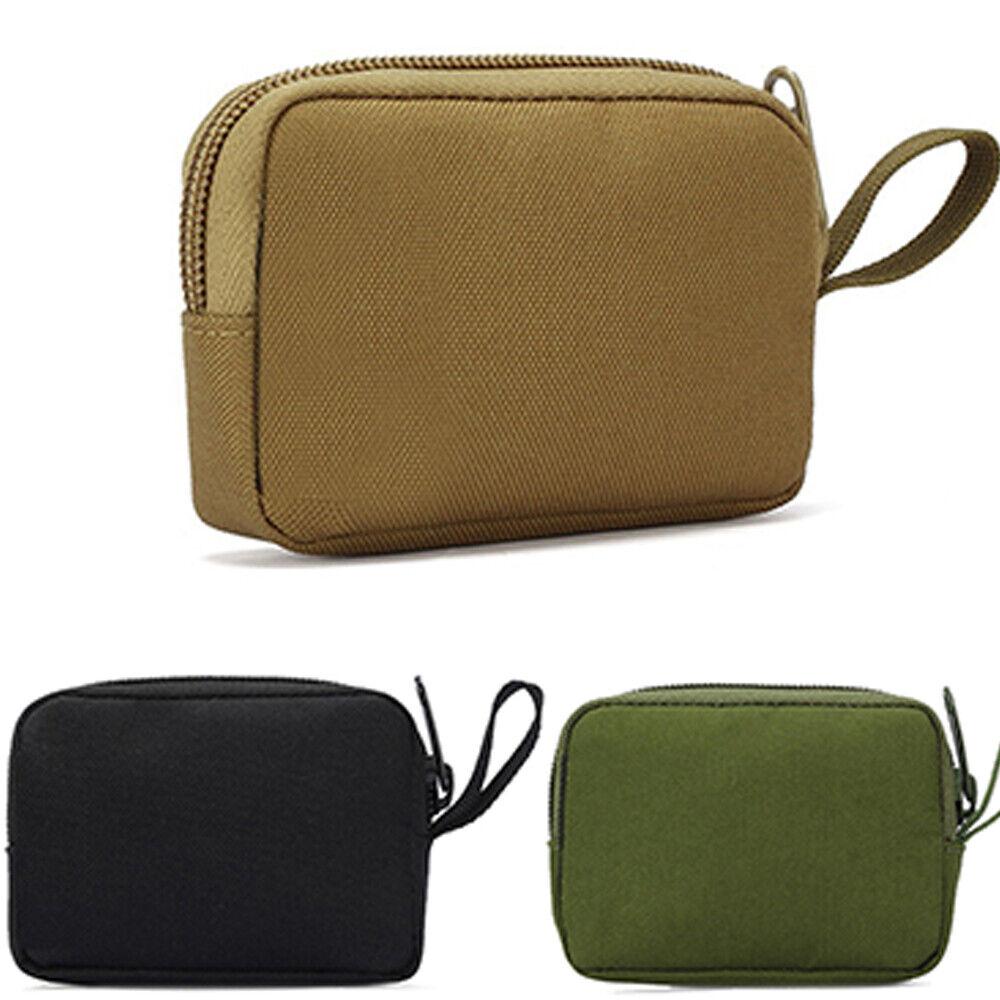 Military Molle Bag Women Men Waterproof Hunting Hiking Card Key Bag Portable US Bags