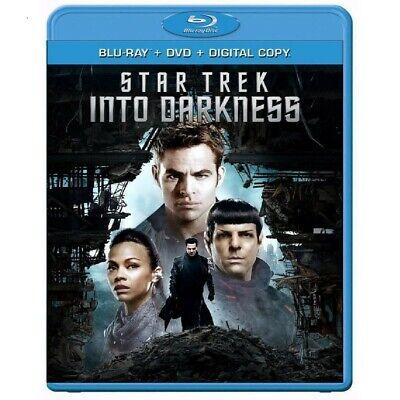 STAR TREK: INTO DARKNESS- BLU-RAY/DVD - J.J. Abrams-- Chris Pine, Zachary Quinto