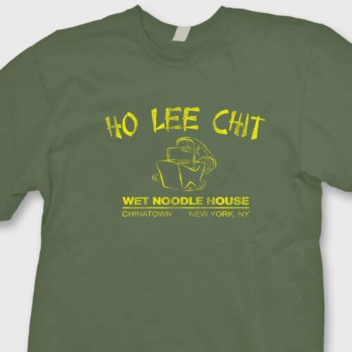 Ho Lee Chit Chinese Style Funny Rude Mens T-Shirt Holy Sh*t