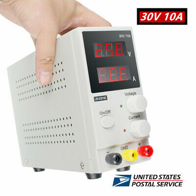 30v 10a K3010d Mini Variable Regulated Adjustable Dc Power Supply For Lab Fast