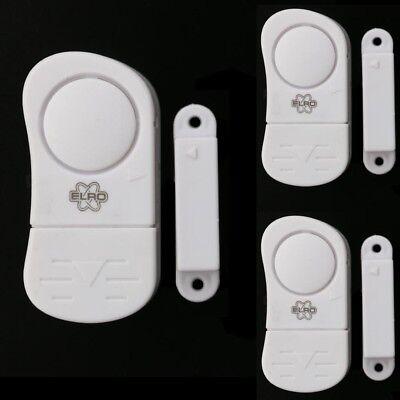 3 x Tür- und Fensteralarm Türalarm Alarm Anlage Tür Fenster Sicherheit Hausalarm