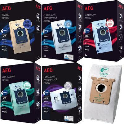 Serie Filter Bag (AEG S-Bag Staubsaugerbeutel Filtertüten für Staubsauger AEG VX6-I-X Force Serie)