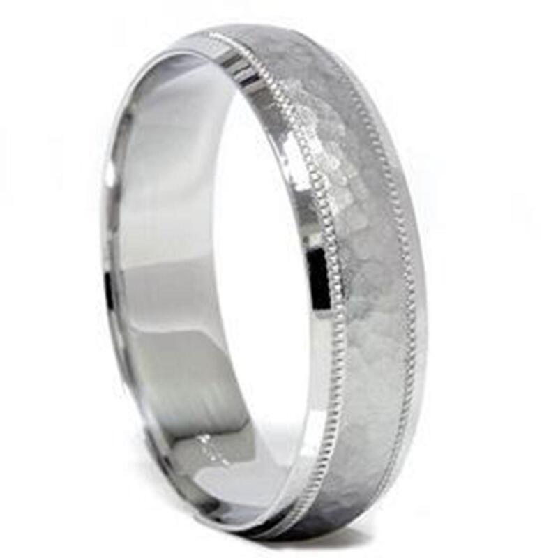mens 10k white gold ring ebay