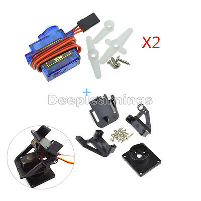 Pantilt Camera Platform Anti-vibration Camera Mount With 2 Servos For Aircraft