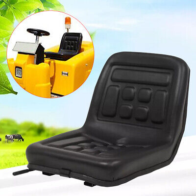 Tractor Seat Universal Lawn Mower Tractor Seat Back 150mm Slide Wa Drain Hole