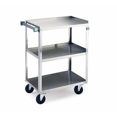 Lakeside Stainless Steel 3-shelf Light Duty Utility Cart - 27 12l X 16 14w X