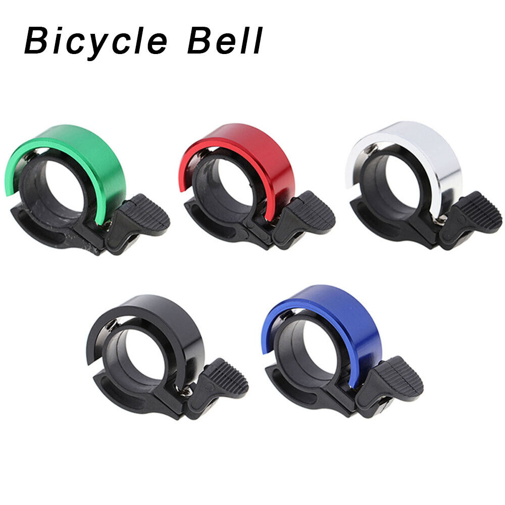 2018 New Safety Cycling Bicycle Handlebar Metal Ring Bike Bell Horn Sound Alarm