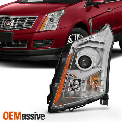Fits 2010-2016 Cadillac SRX Driver Left Side Halogen Headlight lampReplacement