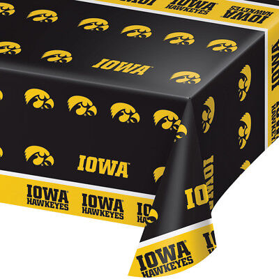 University Of Iowa Party (2-ct University of Iowa Hawkeyes Plastic Table Covers College Party)
