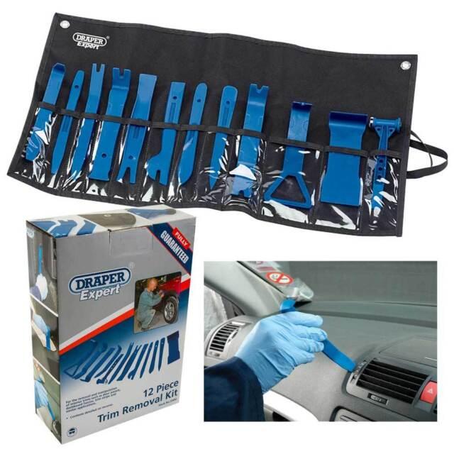 Draper Car Vehicle Trim Removal Tool Kit/Door Panel Dashboard Fascias Remover