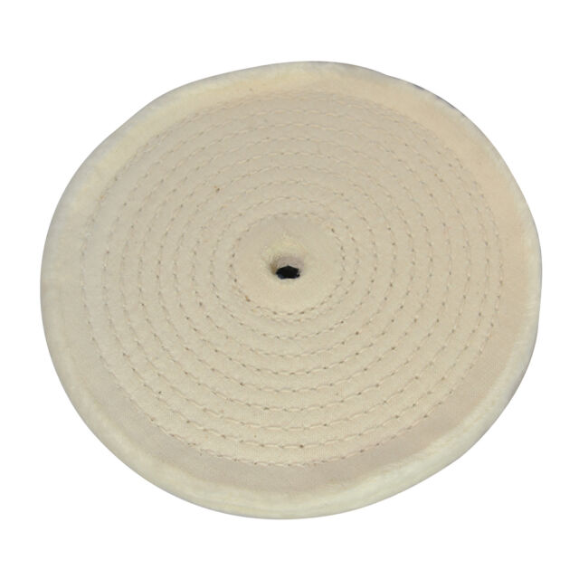 Silverline Spiral Stitched Buffing Wheel 150mm 105888