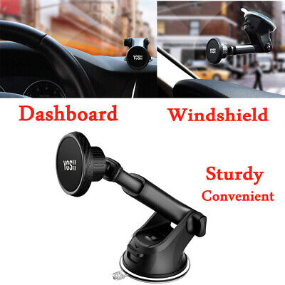 YOSH Magnetic Car Phone Holder Mount Dashboard&Windscreen For iPhone 8/8P/XS/11