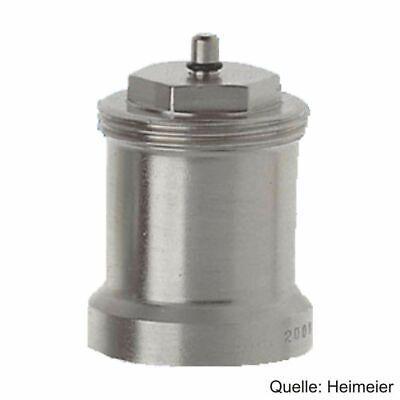 HEIMEIER Spindelverlängerung 30 mm für Th.-Ventilunterteile, Messing vernickelt