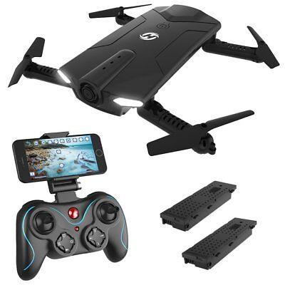 Holy Stone HS160 Foldable FPV RC Drone WiFi HD Camera RTF Quadcopter...