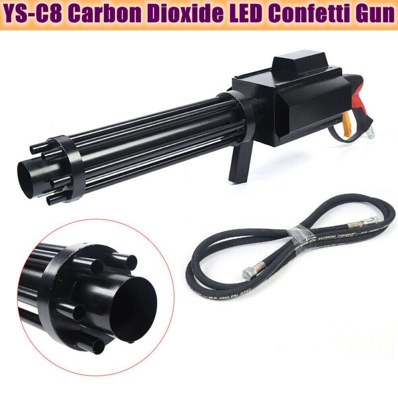 Handheld Carbon Dioxide LED Confetti Gun CO2 Stage Effect Color Paper Gun YS-C8