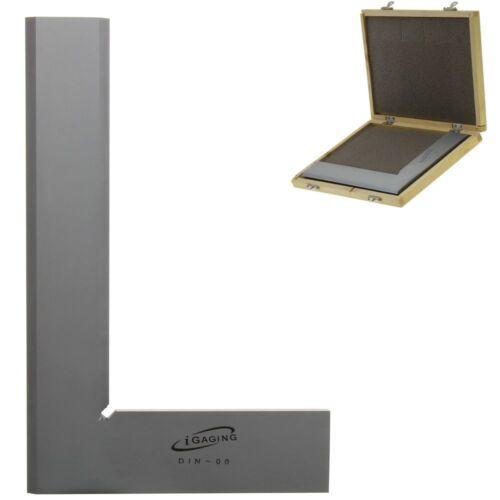 "8"" Bevel Square 90° Right Angle DIN-00 Machinist Precision Design Tool iGaging"