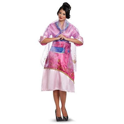 Womens Deluxe Mulan Disney Princess - Mulan Disney Kostüm