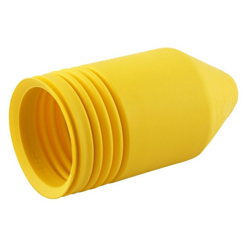 Hubbell IP55 Yellow Boot for Galvanized Male Plug