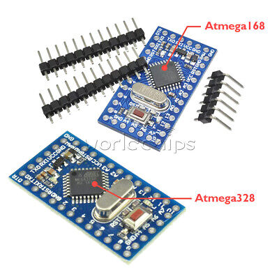 Pro Mini Atmega168atmega328 16m 5v Microcontroller Board For Arduino Nano