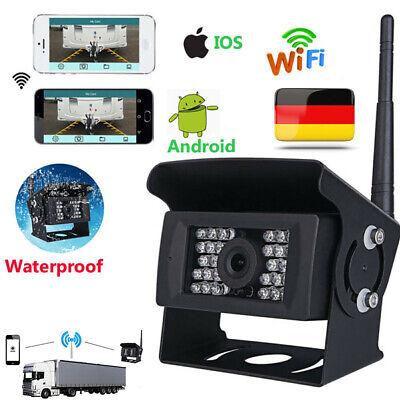 WIFI Kabellos Rückfahrkamera Wasserdichte für iPhone Android Für RV Bus Lkw (Iphone-kamera Wasserdicht)
