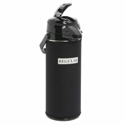 Javasuits 2.2 L Black Neoprene Airpot Cover With White Decaf Imprint - 12h