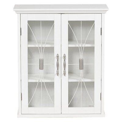 Napoleon Wall Cabinet, White