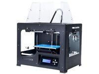 QIDI TECH I Dual Extruder Desktop 3D Printer + extras and lots of filament