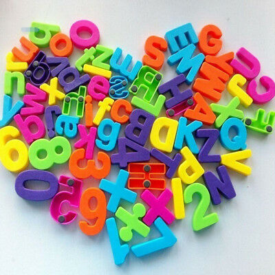 1 Set Of 26 Colorful Teaching Magnetic Numbers Fridge Magnets Alphabet Hot do