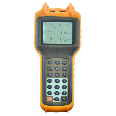 New 5870mhz Signal Level Meter Ry-s110d Catv Cable Tv Db Tester Measurement