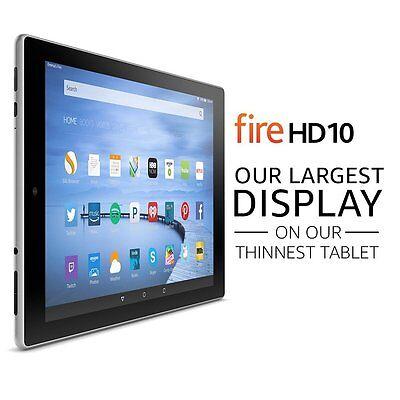 New Amazon Fire Hd 10 Tablet 10 1  Display Wifi 32 Gb Alexa Expandable Storage