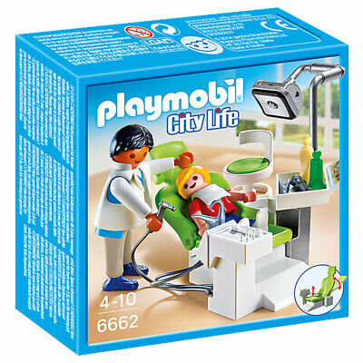 PLAYMOBIL City Life 6662 Dentist with Patient Hospital