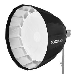 Godox P90H 90cm / P120H 120cm Deep Parabolic Softbox Bowens Mount