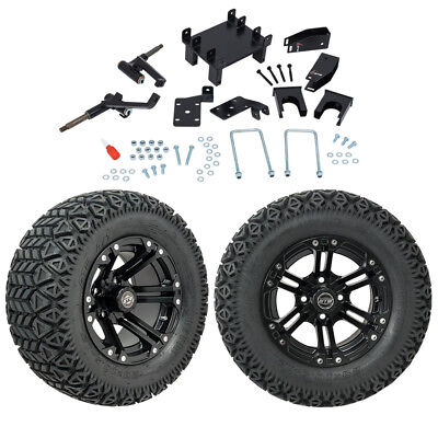 "GTW 5"" EZGO RXV Electric Golf Cart Lift Kit A/T Tires & 12"" Wheels Fits 2008-Up"
