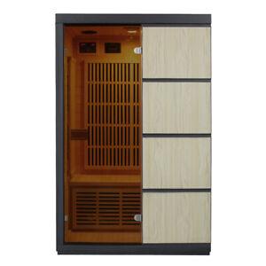 Tumma 2 Person Carbon Fibre Infrared Sauna
