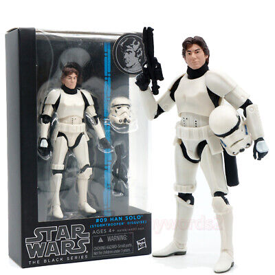 """Star Wars The Black Series Han Solo As Stormtrooper 6"""" Action Figure Model Gift"""